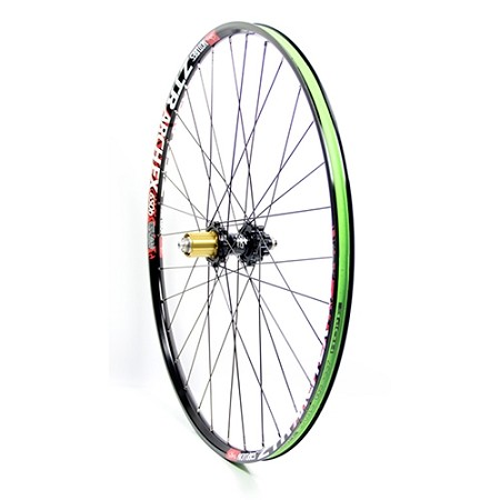 "Custom Built Mountain bike wheels - Aluminum - 27.5""/650B"