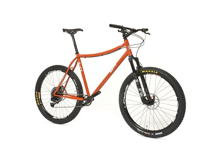 Big Sur: Custom Hardtail Mountain Bike frame - contact us for complete bike pricing