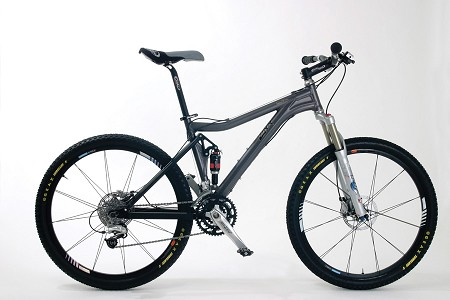 Rocca: XC 26er or 27.5er Full Suspension frame - Contact us for complete bike pricing