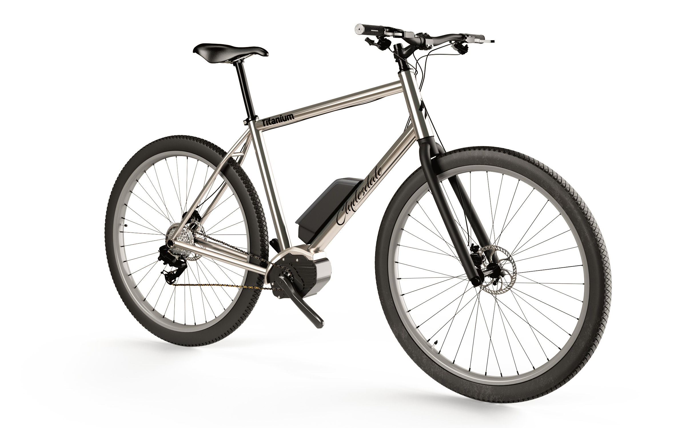 Clydesdale eBFG - 32 inch wheel electric bicycle for tall guys