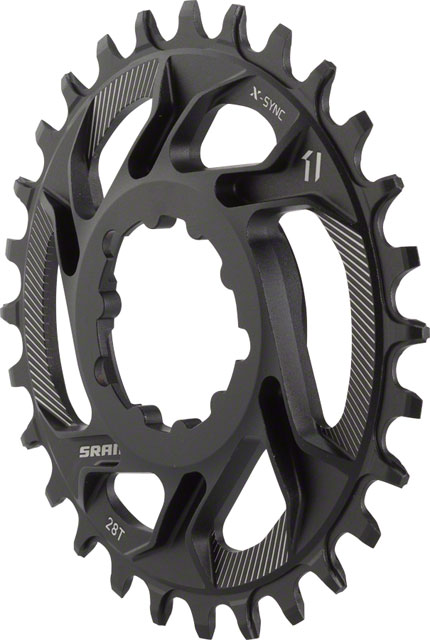 SRAM X-Sync Direct Mount Chainring 6mm Offset - CHOOSE TOOTH COUNT