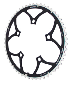 FSA Pro Road Chainring Set, 50/34t, 110bcd, Black