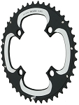 Truvativ 10speed 22-32-44 tooth chainring set- 64/104bcd triple