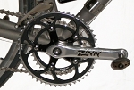 Zinn Custom Extra Short cranks - Square Taper Style