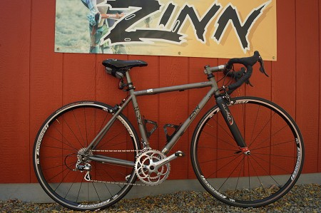 "Custom Titanium travel bike built for a 5'4"" to 5'7"" tall rider - lightly used"