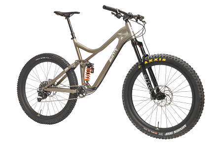 ZINN B.I.G. Series Full Suspension Mountain Bike Frame - contact us for complete bike pricing