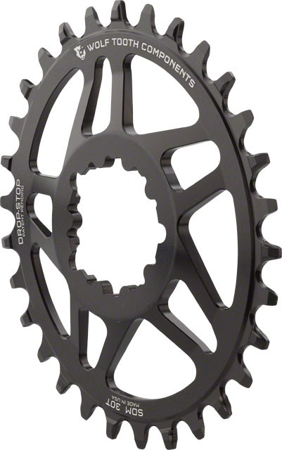 Wolftooth Direct Mount Elliptical Chainring for Sram interface - 6mm Offset - CHOOSE TOOTH COUNT