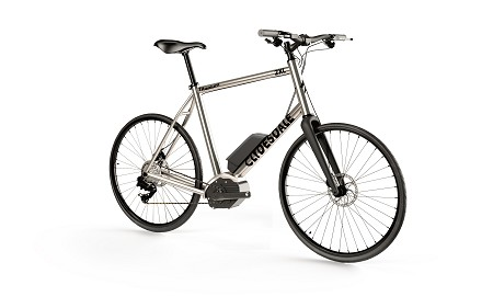 Clydesdale Whip - Titanium gravel/road/touring E-bike