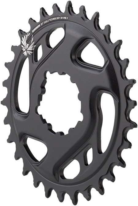 SRAM X-Sync Cold Forged Direct Mount Chainring 6mm Offset - CHOOSE TOOTH COUNT