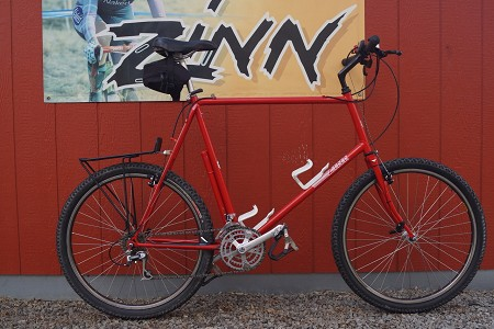 Zinn Custom Steel Mountain bike - Classic (6'7' rider)