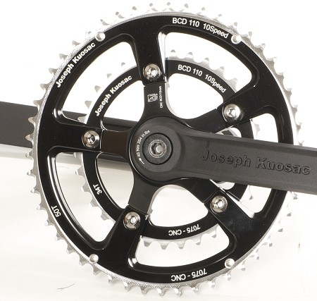 Joseph Kuosac (JK) Chainrings - 30/39/52 double - 130/74bcd